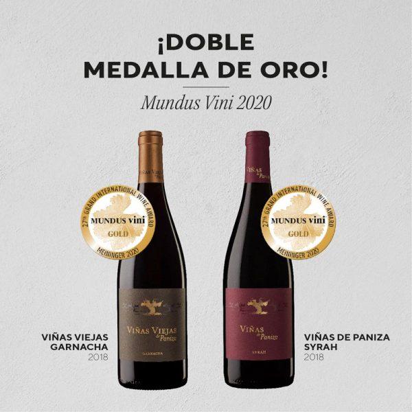 vinos bodega paniza medalla oro mundus
